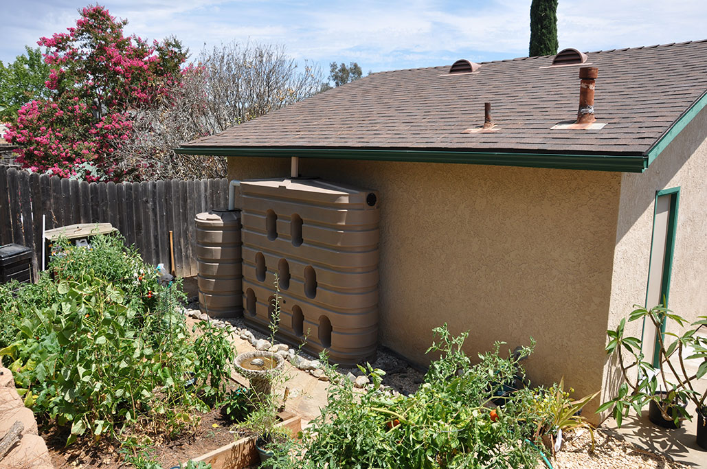 Rainwater Harvesting Sacramento Roofing Contractor