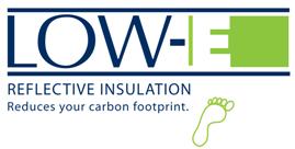 Low-E LogoReflective Insulation