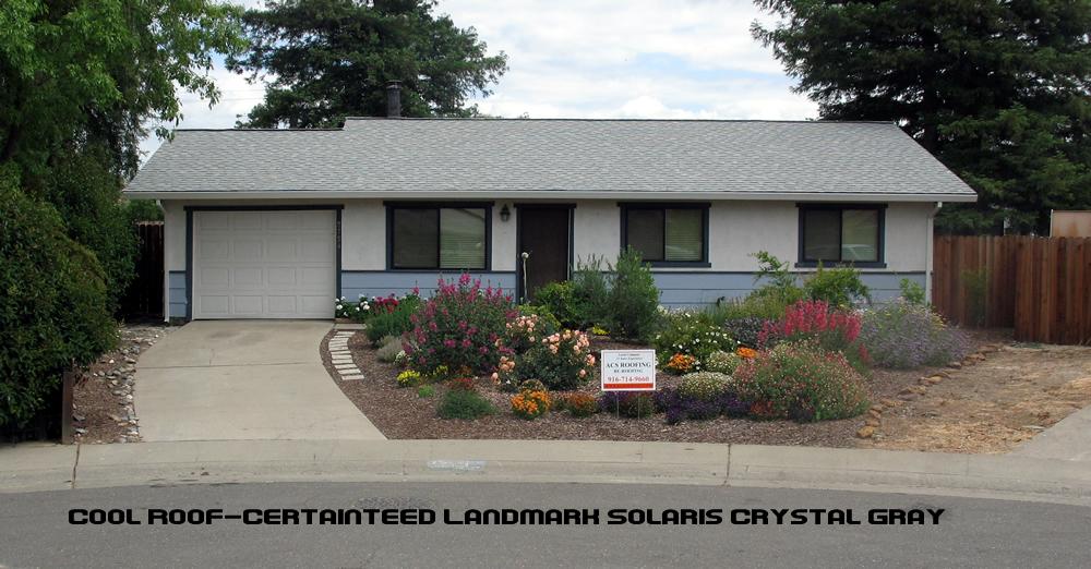 Certainteed Landmark Solaris Sacramento Roofing Contractor